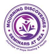 Mourning Discoveries Seminars at Sea