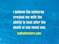 I believe the universe